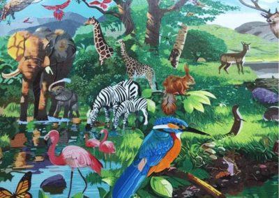 ARPHA MOSAIC MURAL | 馬賽克壁畫 (02)