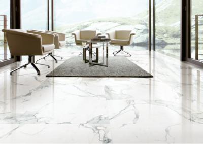 ARPHA WHITE MARBLE TILE | 白底雲石紋瓷磚 (03)