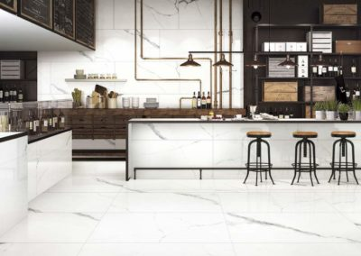 ARPHA WHITE MARBLE TILE | 白底雲石紋瓷磚 (05)