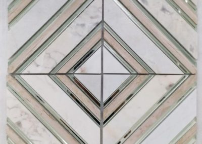 ARPHA GLASS + MARBLE MOSAIC | 玻璃+大理石馬賽克