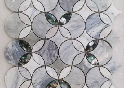 ARPHA MARBLE + SHELL MOSAIC | 大理石 + 貝殼馬賽克